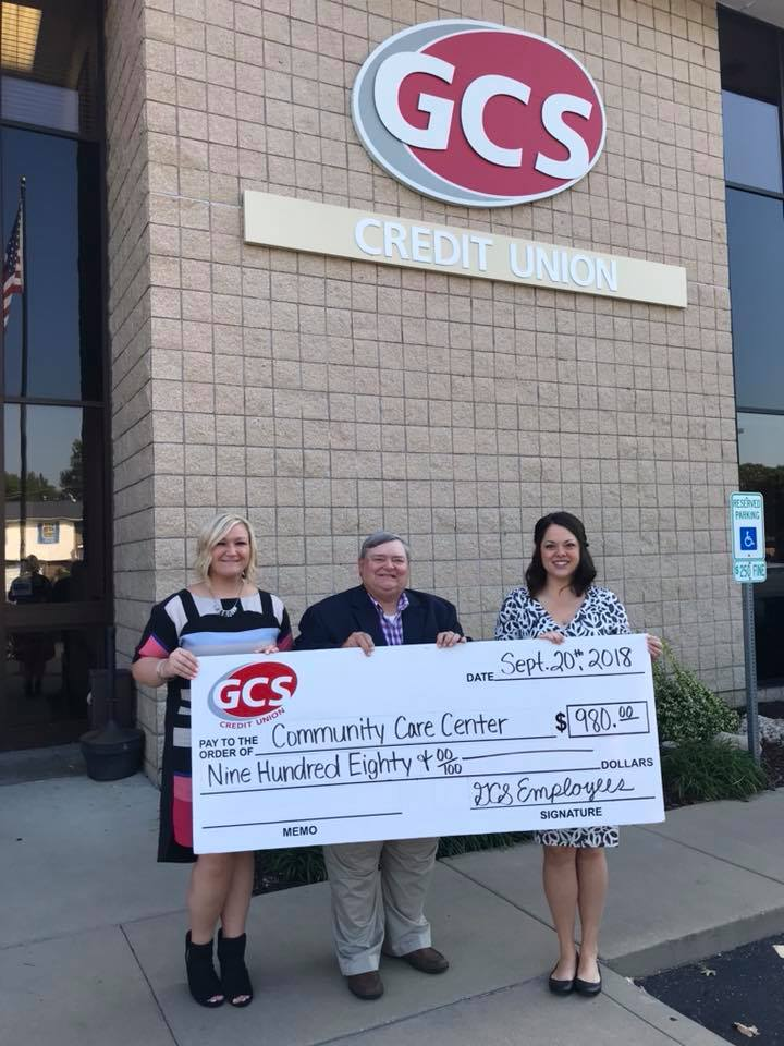 GCS Credit Union Donation
